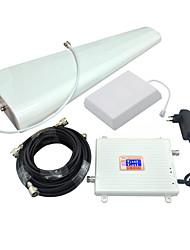 pantalla lcd 3g w-cdma umts 2100mhz 4g lte fdd 2600mhz amplificador de señal de teléfono móvil 3g 4g repetidor de señal amplificador