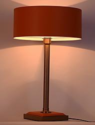 simple Protection des Yeux Lampe de Table Pour Métal 220V Rouge et Rose dragée