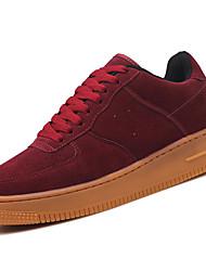 preiswerte -Unisex Schuhe Kunststoff Frühling Herbst Komfort Sneakers für Sportlich Draussen Schwarz Gelb Rot Blau