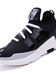 cheap -Men's Rubber Winter Comfort Athletic Shoes Basketball Shoes Booties / Ankle Boots White / Black / Red