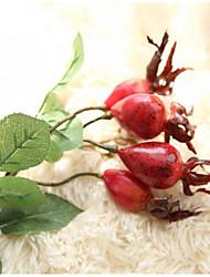 Недорогие -1 Филиал Полиэстер Pастений Букеты на стол Искусственные Цветы