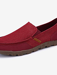 cheap -Men's Shoes Canvas Spring Fall Comfort Espadrilles Loafers & Slip-Ons for Casual Party & Evening Gray Red Blue Khaki