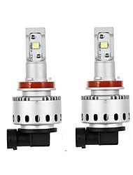 abordables -2 Bombillas 100W W LED de Alto Rendimiento lm 2 Luz de Casco ForUniversal Todos los modelos Todos los Años