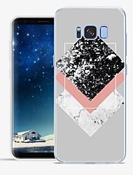 Недорогие -Кейс для Назначение Apple S8 Plus S8 С узором Задняя крышка Мрамор Мягкий TPU для S8 Plus S8 S7 edge S7 S6 edge plus S6 edge S6