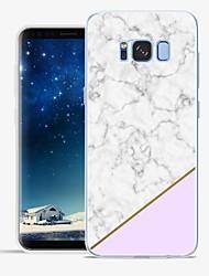 Недорогие -Кейс для Назначение SSamsung Galaxy S8 Plus S8 С узором Задняя крышка Мрамор Мягкий TPU для S8 Plus S8 S7 edge S7 S6 edge plus S6 edge S6