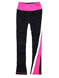 cheap -Figure Skating Pants Women's Ice Skating Sweatshirt / Pants / Trousers / Bottoms Pink Spandex Stretchy Performance / Practise Skating Wear