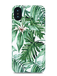economico -Per iPhone X iPhone 8 Custodie cover Fantasia/disegno Custodia posteriore Custodia Albero Morbido TPU per Apple iPhone X iPhone 8 Plus