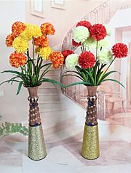abordables -1 Rama Plástico Otros Flor de Mesa Flores Artificiales