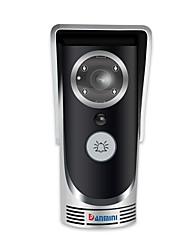 Недорогие -denimini wf-doorbell smart беспроводной видео дверной звонок обнаружение движения инфракрасное ночное видение 720p hd камера серебристый
