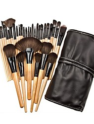cheap -32pcs Makeup Brushes Professional Makeup Brush Set / Blush Brush / Eyeshadow Brush Nylon / Synthetic Hair / Others Eco-friendly / / Wood