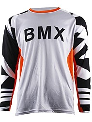 abordables -sagesse feuilles moto cross-country jersey propre VTT hd downhill cross-country jersey sports de plein air à manches longues t-shirt