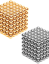 cheap -Magnet Toy Neodymium Magnet Magnetic Balls 216*2pcs 3mm Magnet Metal Sphere Cylindrical Unisex Toy Adults' Gift