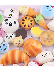 cheap -LT.Squishies Squeeze Toy / Sensory Toy Stress Relievers Toy Food Bread Donuts Relieves ADD, ADHD, Anxiety, Autism Office Desk Toys Stress