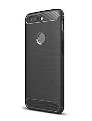 cheap -Case For OnePlus OnePlus 5T 5 Ultra-thin Back Cover Solid Color Soft TPU for One Plus 5 OnePlus 5T One Plus 3 One Plus 3T