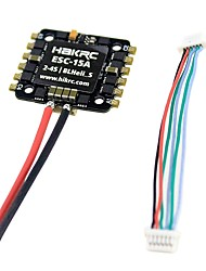cheap -1pc ESC Speed Controller (ESC) RC Airplanes Drones RC Quadcopters RC Airplanes Drones RC Quadcopters Plastic+PCB+Water Resistant Epoxy