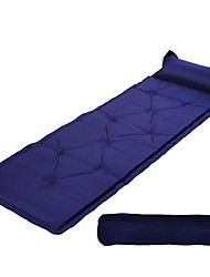 cheap -Inflated Mat Sleeping Pad Moistureproof/Moisture Permeability Waterproof Quick Dry Inflated Rectangular Polyester PVC Hunting Hiking
