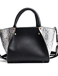 cheap -Women's Bags PU Shoulder Bag Zipper / Pocket Blushing Pink / Coffee / Dark Grey