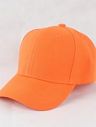 baratos -Unisexo Trabalho Algodão, Chapéu de sol Boné - Fashion Sólido