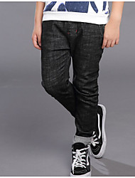 cheap -Boys' Solid Simple Jeans,Cotton Spring Fall Active Black
