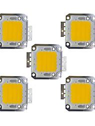 economico -30w cob 2400lm 3000-3200k / 6000-6200k bianco caldo / bianco led chip dc30-36v 5 pz