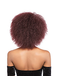 cheap -Synthetic Wig Kinky Curly Afro Kinky Black Women's Capless Natural Wigs Short Synthetic Hair