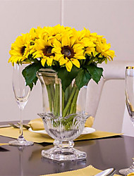 cheap -6 Branch Others Sunflowers Tabletop Flower Artificial Flowers