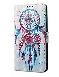 cheap -Case For Vivo vivo X20 Plus vivo X20 Card Holder Wallet with Stand Flip Magnetic Pattern Full Body Cases Dream Catcher Hard PU Leather for