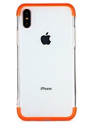 abordables -Funda Para Apple iPhone 7 / iPhone 6 Traslúcido Funda Trasera Un Color Suave TPU para iPhone X / iPhone 8 Plus / iPhone 8