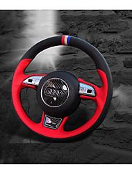 Недорогие -автомобильные крышки рулевого колеса (кожа) для audi все годы a1 q5 q7 q3 a3 a4l a6l