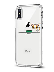 Θήκη Za Apple iPhone X iPhone 8 Uzorak Kućište Pas Mekano TPU za iPhone X iPhone 8 Plus iPhone 8 iPhone 7 Plus iPhone 7 iPhone 6s Plus