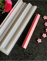 Недорогие -1шт силикагель Праздник День рождения Новый год конфеты Прямоугольный Инструменты для выпечки