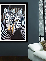 cheap -Animals Fantasy Illustration Wall Art,PVC Material With Frame For Home Decoration Frame Art Living Room Bedroom Kitchen Dining Room Kids