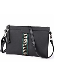 cheap -Women's Bags PU Shoulder Bag Tassel for Outdoor All Seasons Green White Red