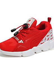 abordables -Garçon Chaussures Tulle Automne Confort Chaussures d'Athlétisme Course à Pied Lacet pour Bleu de minuit / Rouge / Bleu royal