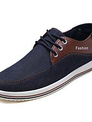 Недорогие -Муж. обувь Полиуретан Весна Осень Удобная обувь Спортивная обувь для на открытом воздухе Черный Серый Синий