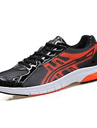 baratos -Homens sapatos Tule Primavera / Outono Conforto Tênis Corrida Verde e Azul / Verde Claro / Laranja e Preto