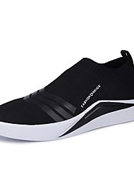 cheap -Men's Shoes Knit Spring Fall Comfort Sneakers for Casual Outdoor Black White