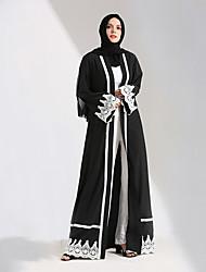 preiswerte -Mode Einteilig Kleid Frau Fest / Feiertage Halloween Kostüme Schwarz Solide