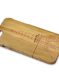 Недорогие -Кейс для Назначение Apple iPhone 6 iPhone 6 Plus Защита от удара Эйфелева башня Твердый для