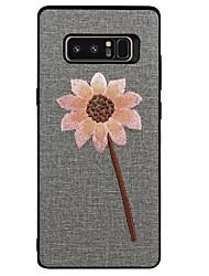 preiswerte -Hülle Für Samsung Galaxy Note 8 Muster Landschaft Blume Weich für