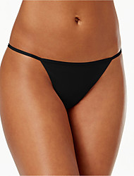 cheap -Women's G-strings & Thongs Panties Solid Colored Mid Waist