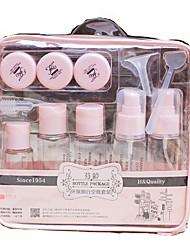 Недорогие -Косметические бутылочки Однотонный Эллипс Пластик
