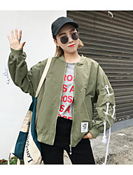 cheap -Women's Casual Jacket Print