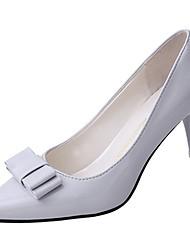Недорогие -Жен. Обувь Полиуретан Весна Осень Удобная обувь Обувь на каблуках На шпильке для на открытом воздухе Бежевый Светло-серый Розовый