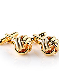 cheap -Floral Pattern Black Silver Golden Cufflinks Alloy Formal Elegant Fashion Wedding Evening Party Men's Costume Jewelry