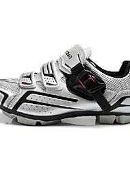 abordables -Tiebao® Chaussures de Vélo de Route Chaussures Vélo / Chaussures de Cyclisme Adulte Antiusure Vélo de Route De plein air Cuir PVC Grille