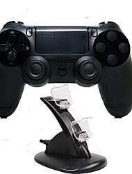 Недорогие -игровой контроллер джойстика джойстика джойстика джойстика джойстика джойстика геймпад с двумя зарядными устройствами для ps4