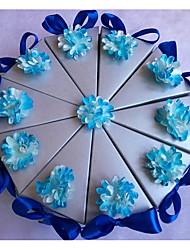 Недорогие -Картон Фавор держатель с Бант Ленты Коробочки Подарочные коробки Банка для сладостей - 10 шт.