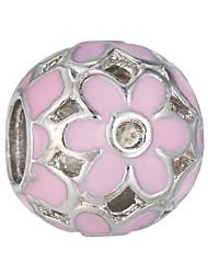 cheap -DIY Jewelry 10 pcs Beads Alloy White Pearl Pink Green Blue Ball Bead 0.45 cm DIY Necklace Bracelet
