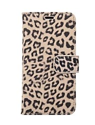 cheap -Case For Apple iPhone X iPhone 8 Plus Card Holder with Stand Full Body Leopard Print Hard PU Leather for iPhone X iPhone 8 Plus iPhone 8